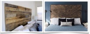 Salvaged Wood Headboards